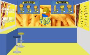 Progettazione Grafica Negozio - Master Chips