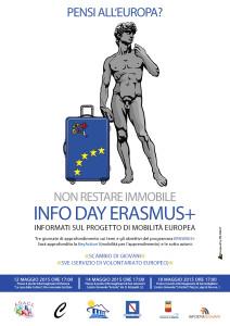 Locandina Erasmus + - L'Agorà Partenopea